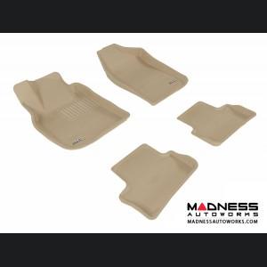 Chevrolet Cobalt Floor Mats (Set of 4) - Tan by 3D MAXpider (2005-2010)