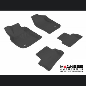 Chevrolet Cobalt Floor Mats (Set of 4) - Black by 3D MAXpider (2005-2010)
