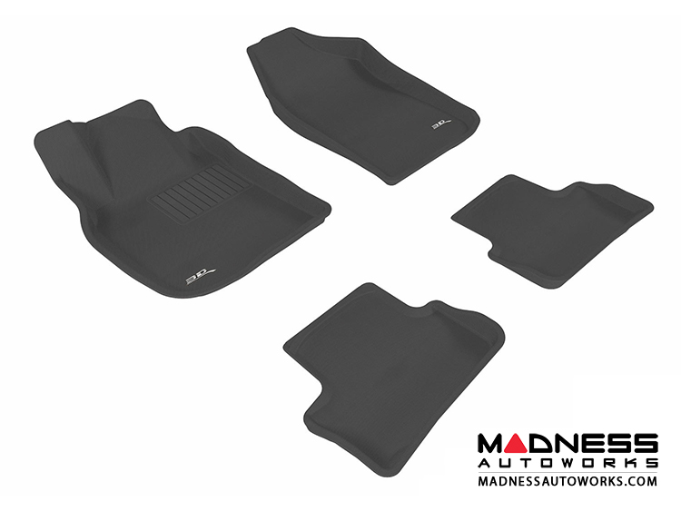 Chevrolet Cobalt Floor Mats (Set of 4) - Black by 3D MAXpider (2005-2010)