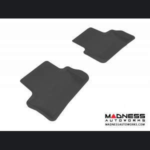 Chevrolet Cobalt Floor Mats (Set of 2) - Rear - Black by 3D MAXpider (2005-2010)