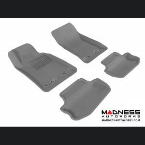 Chevrolet Camaro Floor Mats (Set of 4) - Gray by 3D MAXpider (2010-2015)