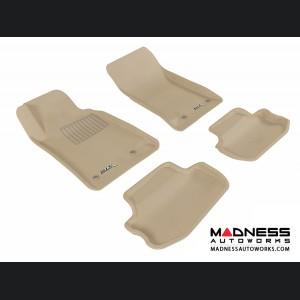 Chevrolet Camaro Floor Mats (Set of 4) - Tan by 3D MAXpider (2010-2015)