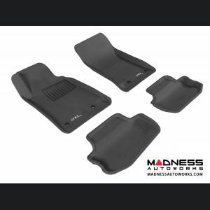 Chevrolet Camaro Floor Mats (Set of 4) - Black by 3D MAXpider (2010-2015)