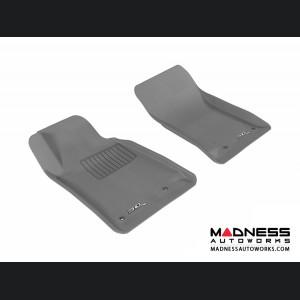 Chevrolet Camaro Floor Mats (Set of 2) - Front - Gray by 3D MAXpider (2010-2015)