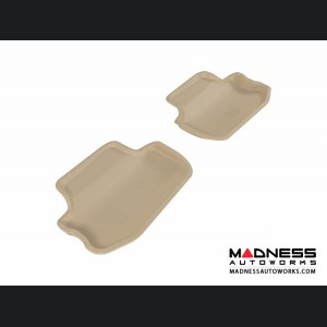 Chevrolet Camaro Floor Mats (Set of 2) - Rear - Tan by 3D MAXpider (2010-2015)
