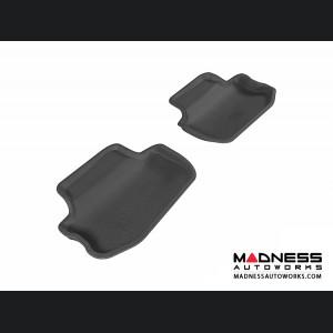 Chevrolet Camaro Floor Mats (Set of 2) - Rear - Black by 3D MAXpider (2010-2015)