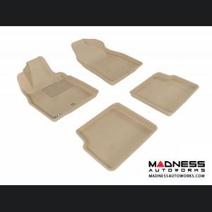 Chevrolet HHR Floor Mats (Set of 4) - Tan by 3D MAXpider (2006-2011)