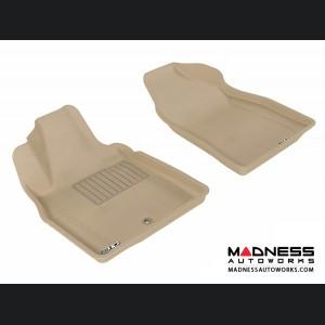 Chevrolet HHR Floor Mats (Set of 2) - Front - Tan by 3D MAXpider (2006-2011)