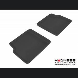 Chevrolet HHR Floor Mats (Set of 2) - Rear - Black by 3D MAXpider (2006-2011)