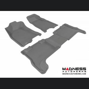 Chevrolet Colorado Crew Cab Floor Mats (Set of 3) - Gray by 3D MAXpider (2004-2012)
