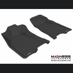 Chevrolet Colorado Crew Cab Floor Mats (Set of 2) - Front - Black by 3D MAXpider (2004-2012)
