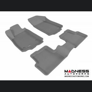 Chevrolet Sonic Sedan/ Hatchback Floor Mats (Set of 3) - Gray by 3D MAXpider (2012-2015)