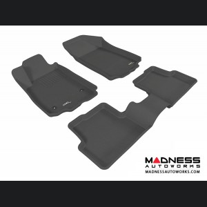 Chevrolet Sonic Sedan/ Hatchback Floor Mats (Set of 3) - Black by 3D MAXpider (2012-2015)
