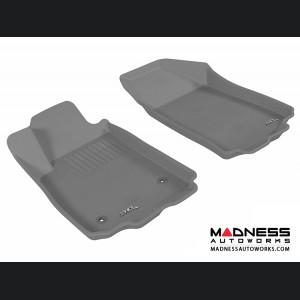 Chevrolet Sonic Sedan/ Hatchback Floor Mats (Set of 2) - Front - Gray by 3D MAXpider (2012-2015)