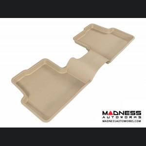 Chevrolet Sonic Sedan/ Hatchback Floor Mat - Rear - Tan by 3D MAXpider (2012-2015)