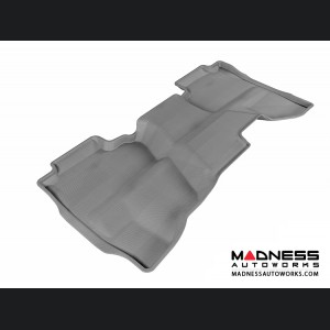 Chevrolet/ GMC Silverado/ Sierra Double Cab Floor Mat - Rear - Gray by 3D MAXpider (2014-)