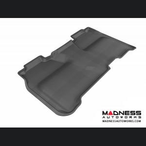 Chevrolet Silverado Crew Cab Floor Mat - Rear - Black by 3D MAXpider (2014-)