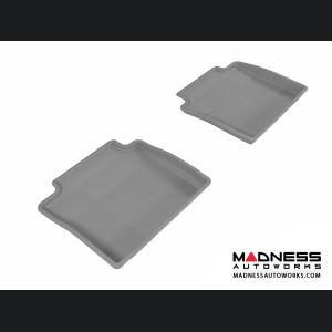 Chevrolet Impala Floor Mats (Set of 2) - Rear - Gray by 3D MAXpider (2014-)