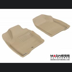 Chevrolet Impala Floor Mats (Set of 2) - Front - Tan by 3D MAXpider (2014-)