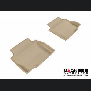 Chevrolet Impala Floor Mats (Set of 2) - Rear - Tan by 3D MAXpider (2014-)
