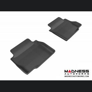 Chevrolet Impala Floor Mats (Set of 2) - Rear - Black by 3D MAXpider (2014-)