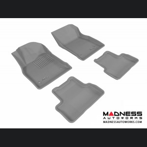 Chevrolet Cruze Floor Mats (Set of 4) - Gray by 3D MAXpider (2011-2015)