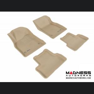 Chevrolet Cruze Floor Mats (Set of 4) - Tan by 3D MAXpider (2011-2015)