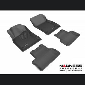 Chevrolet Cruze Floor Mats (Set of 4) - Black by 3D MAXpider (2011-2015)