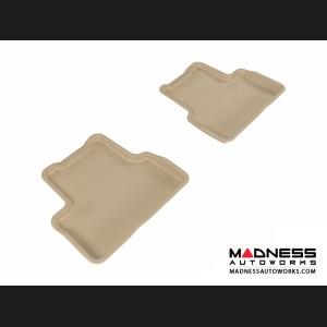 Chevrolet Cruze Floor Mats (Set of 2) - Rear - Tan by 3D MAXpider (2011-2015)