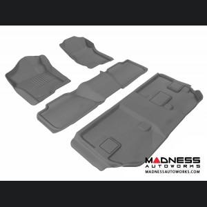 Chevrolet Suburban Floor Mats (Set of 4) - Gray by 3D MAXpider (2007-2014)
