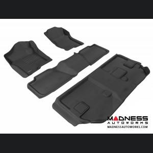 Chevrolet Suburban Floor Mats (Set of 4) - Black by 3D MAXpider (2007-2014)