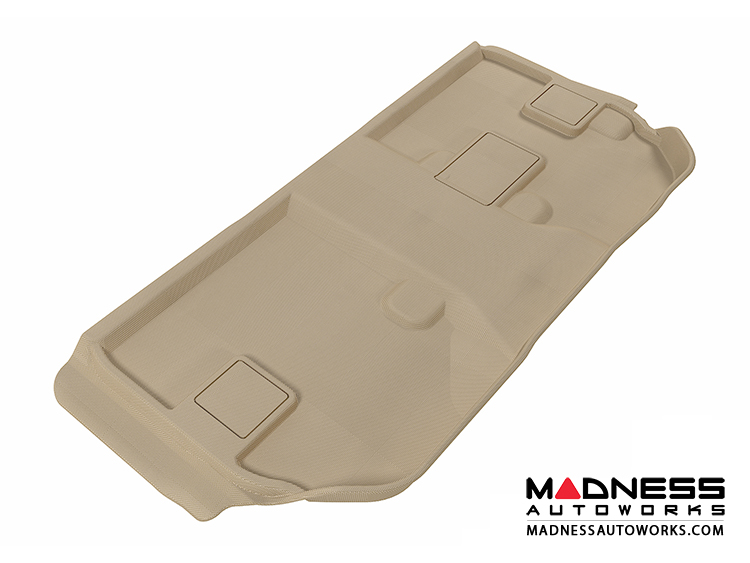 Chevrolet Suburban Floor Mat - 3rd Row - Tan by 3D MAXpider (2007-2014)