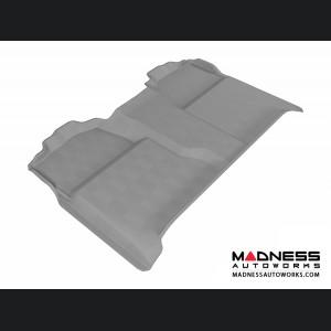 Chevrolet/ GMC Silverado/ Sierra Crew Cab Floor Mat - Rear - Gray by 3D MAXpider (2007-2013)