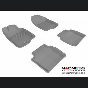 Chevrolet Malibu Floor Mats (Set of 4) - Gray by 3D MAXpider (2008-2012)