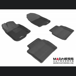 Chevrolet Malibu Floor Mats (Set of 4) - Black by 3D MAXpider (2008-2012)