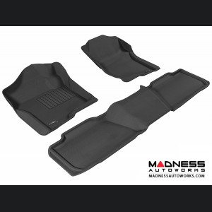 Chevrolet Tahoe Floor Mats (Set of 3) - Black by 3D MAXpider (2007-2014)