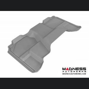 Chevrolet/ GMC Silverado/ Sierra Extended Cab Floor Mat - Rear - Gray by 3D MAXpider (2007-2013)