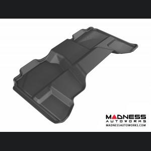 Chevrolet/ GMC Silverado/ Sierra Extended Cab Floor Mat - Rear - Black by 3D MAXpider (2007-2013)