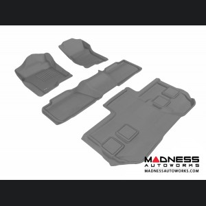 Chevrolet Suburban Floor Mats (Set of 4) - Gray by 3D MAXpider (2011-2014)