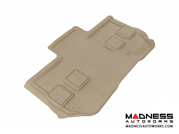 Chevrolet Suburban Floor Mat - 3rd Row - Tan by 3D MAXpider (2011-2014)