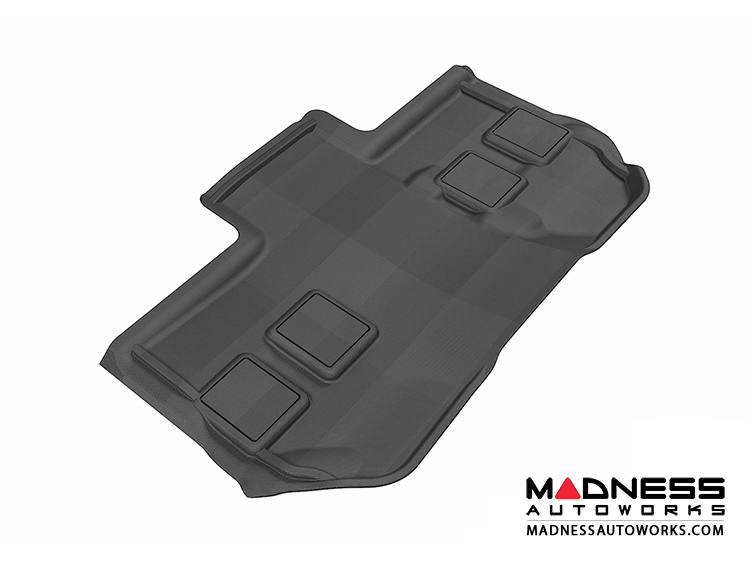 Chevrolet Suburban Floor Mat - 3rd Row  - Black by 3D MAXpider (2011-2014)