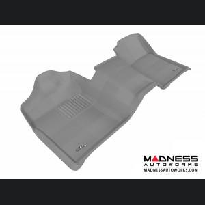Chevrolet/ GMC Silverado/ Sierra Regular Cab Floor Mat - 3rd Row - Gray by 3D MAXpider (2007-2013)