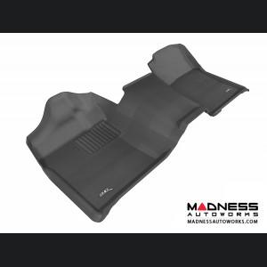 Chevrolet/ GMC Silverado/ Sierra Regular Cab Floor Mat - 3rd Row - Black by 3D MAXpider (2007-2013)