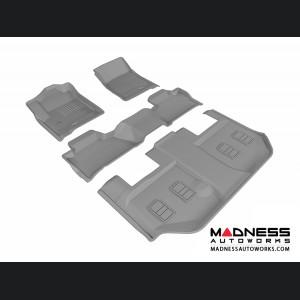 Chevrolet Suburban Floor Mats (Set of 4) - Gray by 3D MAXpider (2015-)