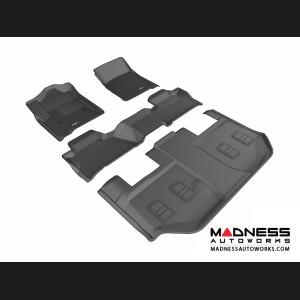 Chevrolet Suburban Floor Mats (Set of 4) - Black by 3D MAXpider (2015-)