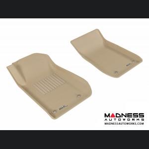 Chevrolet SS Floor Mats (Set of 2) - Front - Tan by 3D MAXpider (2013-)
