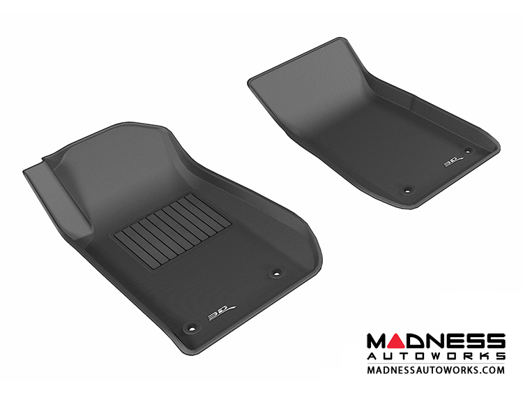 Chevrolet SS Floor Mats (Set of 2) - Front - Black by 3D MAXpider (2013-)