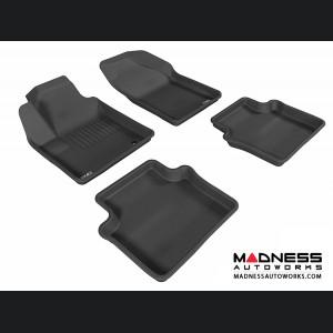 Chrysler Sebring Sedan Floor Mats (Set of 4) - Black by 3D MAXpider (2007-2010)