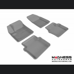 Chrysler 200 Floor Mats (Set of 4) - Gray by 3D MAXpider (2012-2014)
