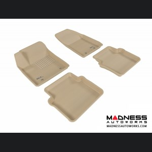 Chrysler 200 Floor Mats (Set of 4) - Tan by 3D MAXpider (2012-2014)